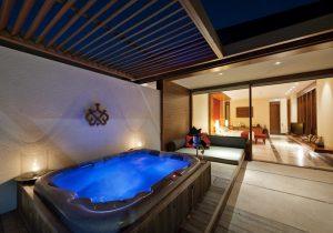 Jakuzi, Paradise Island Resort Maldives