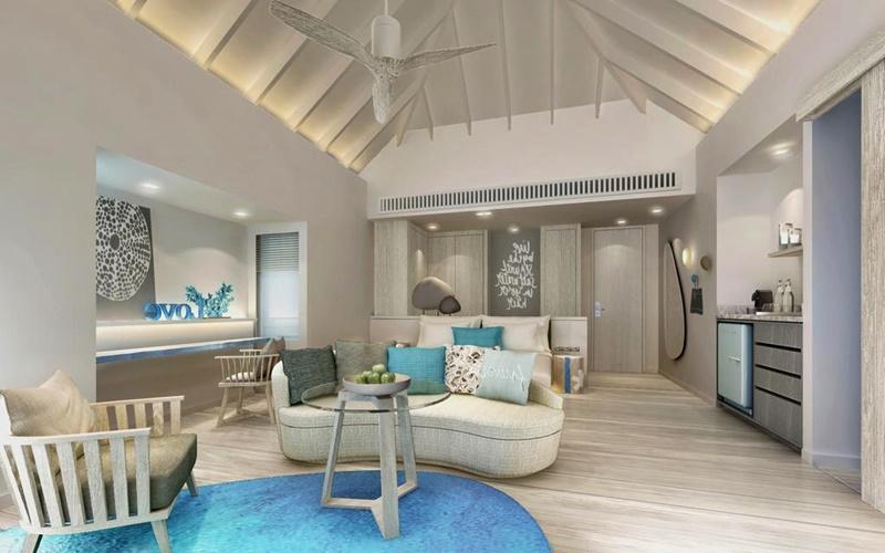 Lüks Odalar, Lux Resort Maldivler