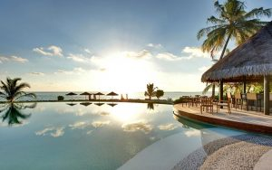 Lux Resort Maldivler Gün Batımı