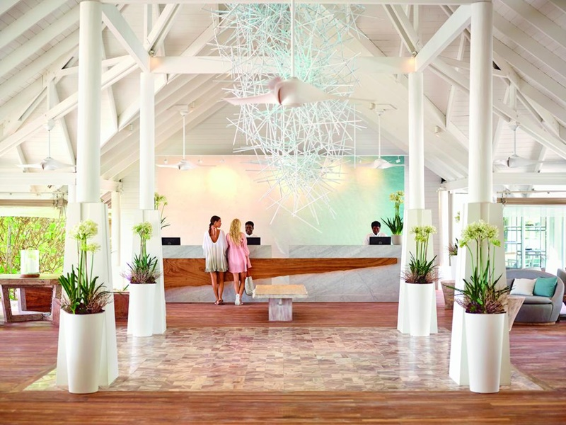 Resepsiyon, Lux Resort Maldivler