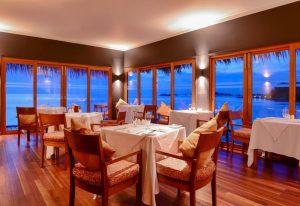 Restoran, Adaaran Select Hudhuranfushi Maldives