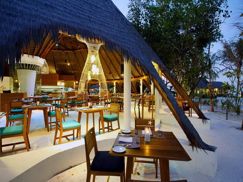 Restoran, Centara Ras Fushi Maldives