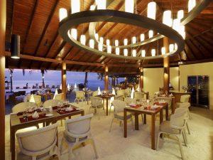 Restoran, Centara Ras Fushi Maldivler