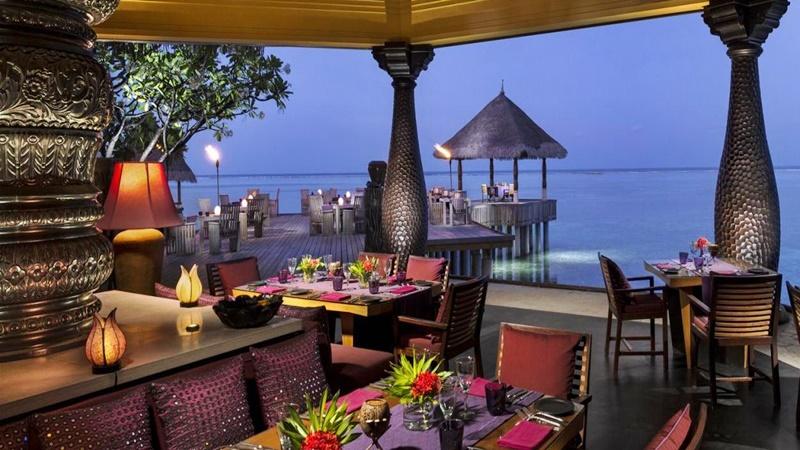 Restoran, Four Seasons Kuda Huraa Maldives