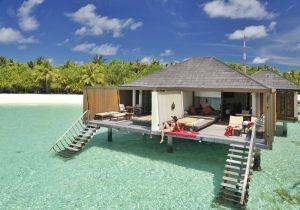 Su Üstü Villa, Paradise Island Resort Maldivler