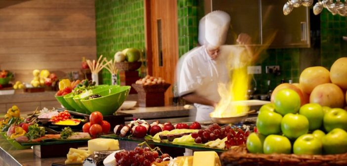 W Retreat Mutfağı