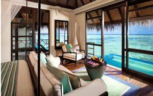Water Villa, Four Seasons Kuda Huraa Maldivler