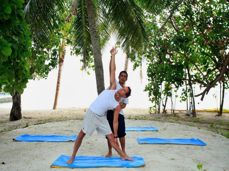 Yoga, Centara Ras Fushi Maldives