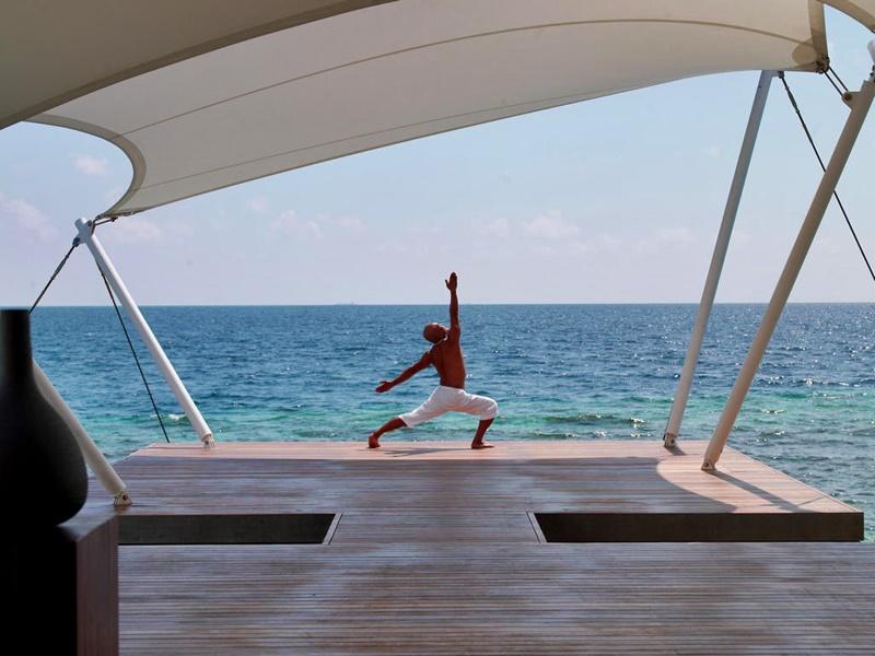 Yoga, W Retreat, Maldivler